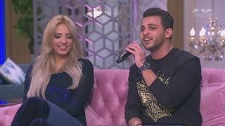 معكم منى الشاذلي | بناءاً على طلب خطيبته مي حلمي.. محمد رشاد يغني « والله ياهوى »