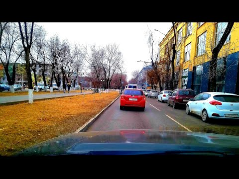 Driving in the Russian City, Astrakhan