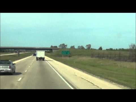 Illinois - Interstate 39 North - Mile Marker 100-110 (5/2/12)