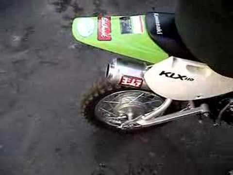 KLX 110 yoshimura exhaust sick tricked out heavy modded