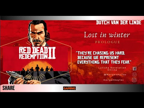 """Red dead redemption 2 #1 prologue """"Lost in the winter"""" part 2  """
