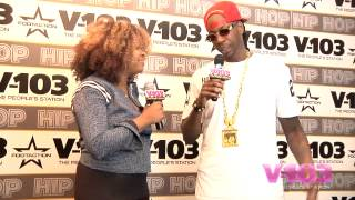 2 Chainz At The V-103 Hip Hop Conference With Ramona DeBreaux