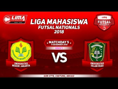 UNJ VS UIR WOMENS LIMA FUTSAL NATIONALS 2018