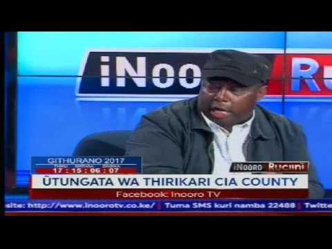 Inooro Rucini: Utungata wa Thirikali Cia County
