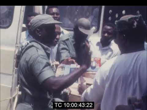 Ghana's Military Government Sells Food Confiscated From Hoarders To The General Public | May 1975.