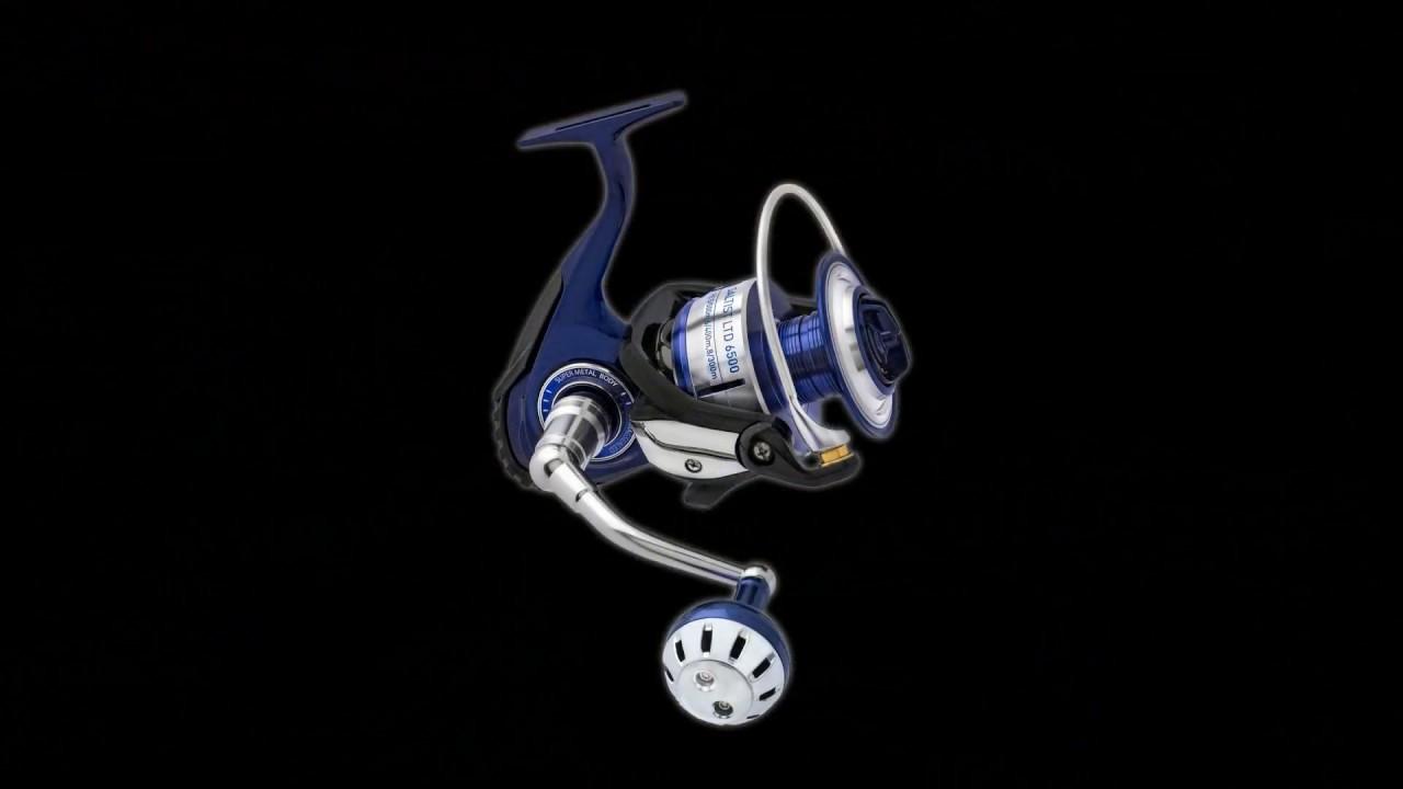 1c0e0bc98d0 Daiwa Saltist LTD Reel - NEW Saltwater Fishing Reel - YouTube