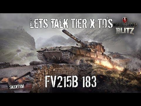 Lets Talk Tier X TD's - FV215B 183