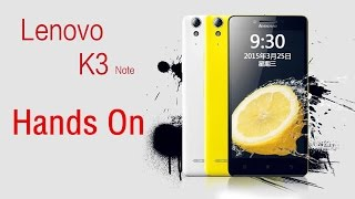 Lenovo K3 Note (K50-T5 ) Unboxing & Review ( Gaming, video,Antutu Benchmark ...)