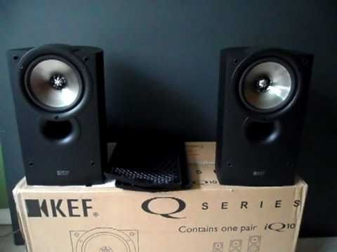 review bookshelf and kef q compact speakers photo test