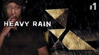 MOST IMMERSIVE GAME EVER? | HEAVY RAIN #1