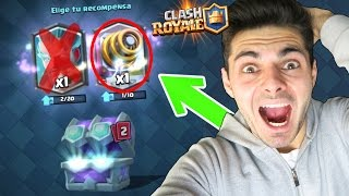 ¡¡ABRO EL NUEVO COFRE MAESTRO DEFINITIVO ELIGIENDO SÓLO LA CARTA DERECHA!! - Clash Royale