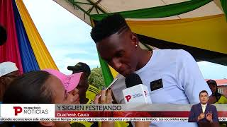 Guachené recibe a Yerry Mina y Davinson Sánchez | Telepacífico Noticias