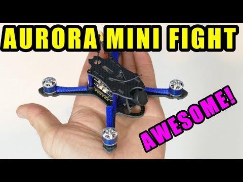 AURORA RC MINI FIGHT 110mm Micro FPV Racing Drone....FUN LITTLE QUAD