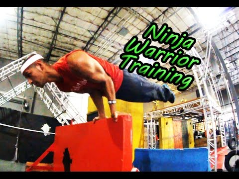 American Ninja Warrior Run w/ Abel Gonzalez