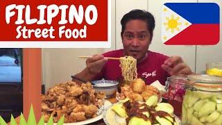 pinoy-street-food-tokneneng-o-kwek-kwek-calamares-mangga-at-bagoong-mukbang-kaing-pinoy