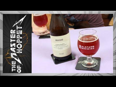 Alefarm Raspberry Farmhouse | TMOH - Beer Review #2183