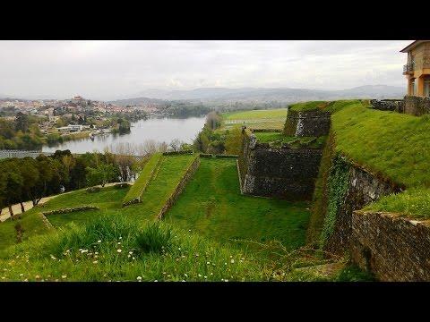 Travel ideas. The North of Portugal, town fortress Valença do Minho