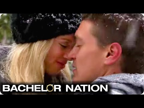 Dean Reassures Lesley With A Kiss | Bachelor Winter Games