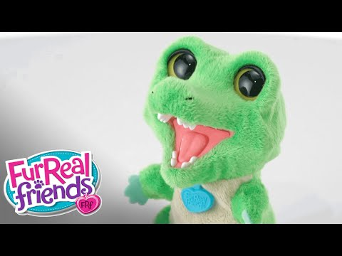 FurReal Friends Robotic Pet - 'Snappy The Gator' Demo - Hasbro