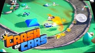 Jogo Crash of Cars Gameplay para Android - Game de Carrinhos Português