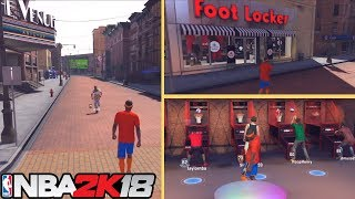 NBA 2K18 Playgrounds Tour and Breakdown Gameplay HD!