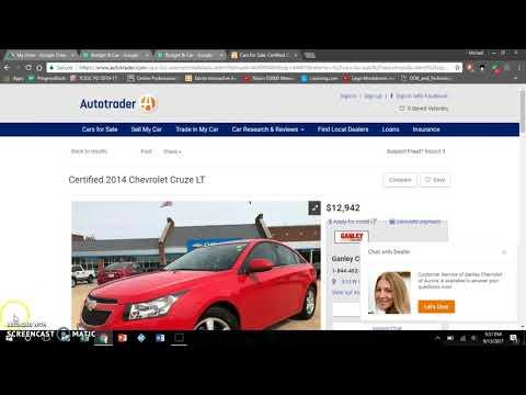 Let's Buy A Car Exercise (Handout Links in Description)