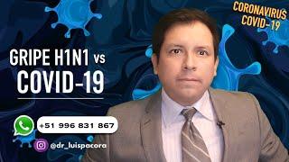 ¿GRIPE H1N1 Y ENFERMEDAD COVID 19❓, DIFERENCIAS ENTRE 2 PANDEMIAS ✅