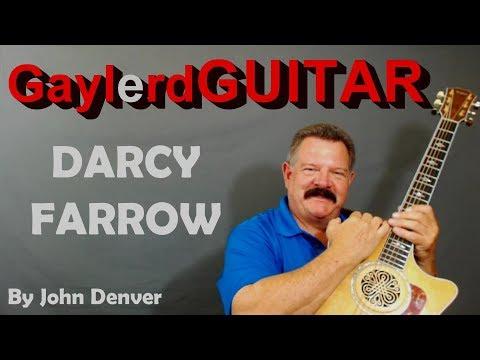 DARCY FARROW -John Denver  (by Steve Gillette /Tom Campbell)  PREVIEW - Guitar Lesson