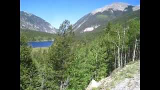Cycling to St. Elmo CO (1/2): Alpine Lake