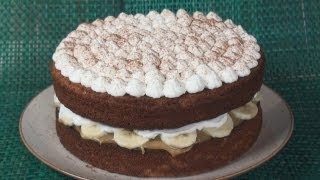 Banoffee (banana And Toffee) Cake Recipe