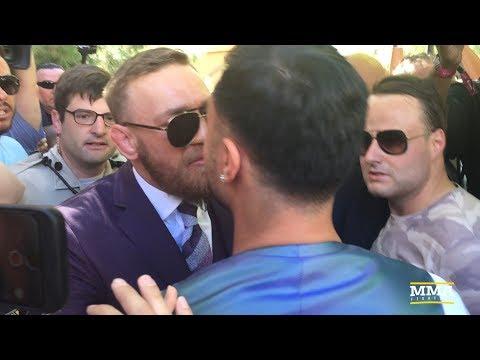 Conor McGregor, Paulie Malignaggi Have Heated Confrontation - MMA Fighting