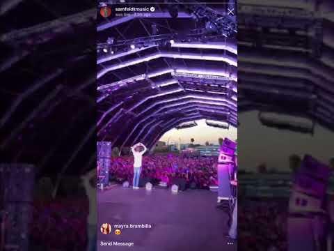 Samfeld concert at L.Vwith Jeremy Renner singing heaven dont have a name