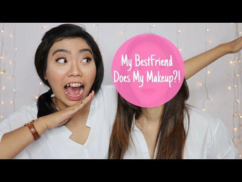 My BestFriend Does My Makeup?! (in Bahasa) | STEFANYTALITA