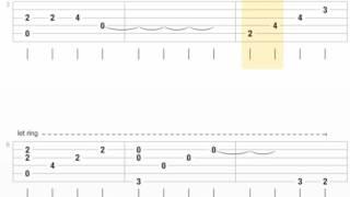 [TAB] Gửi ngàn lời yêu Guitar Solo