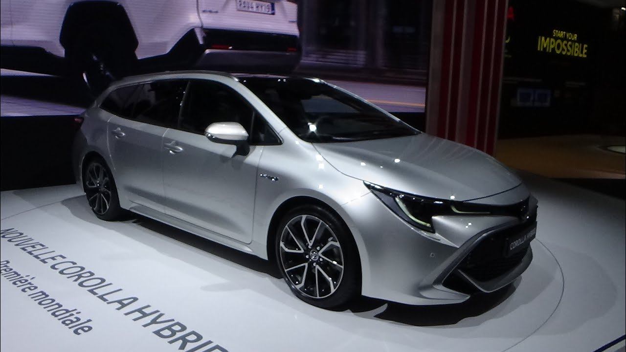 2019 Toyota Corolla Touring Sports Hybrid Exterior And Interior