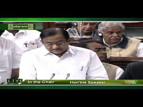 Interim Budget 2014-2015: Speech of  Shri P. Chidambaram, Minister of Finance