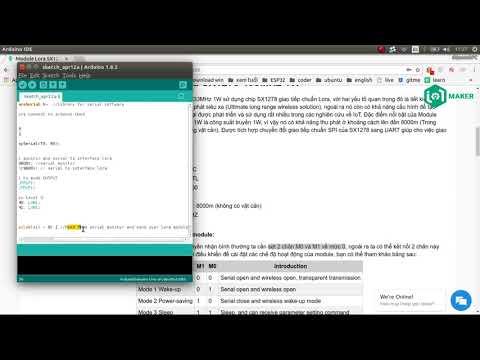 Interface Arduino Lora SX1278