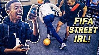 FIFA STREET SKILLS IN REAL-LIFE! 😱