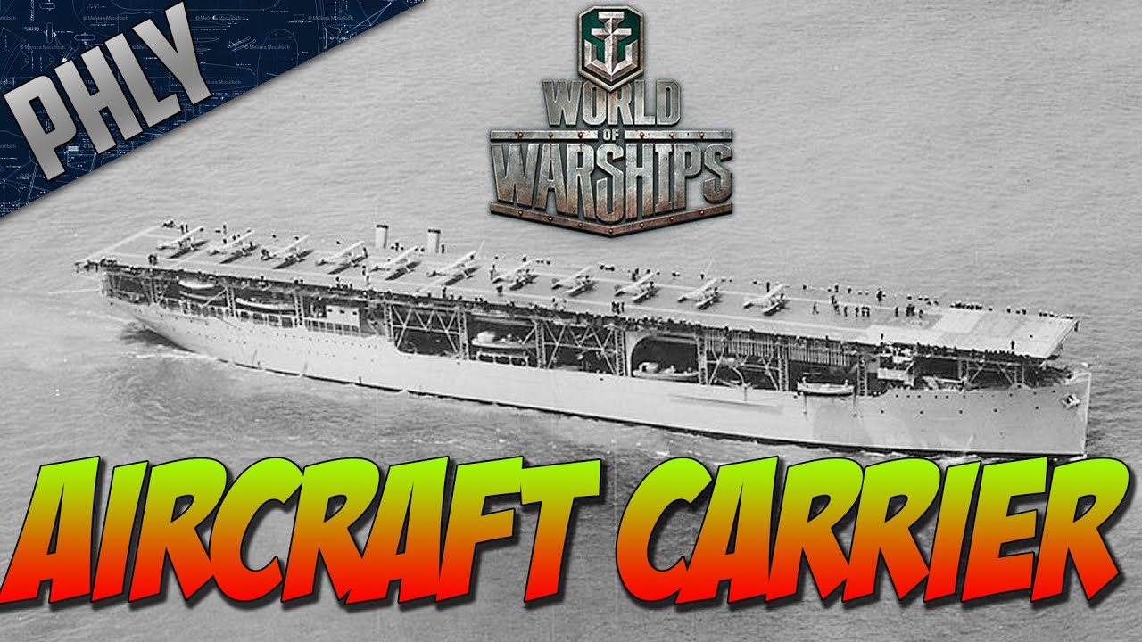 World Of Warships Aircraft Carrier Gameplay! Air Superiority! - YouTube