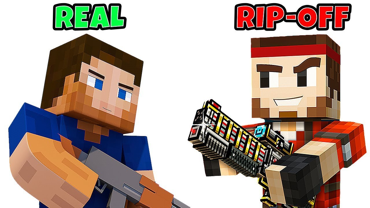 11 Video Games That RIPPED OFF Minecraft  Chaos