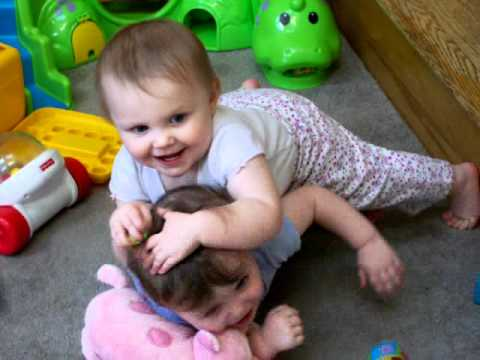 This is when girls start learning mothering skills