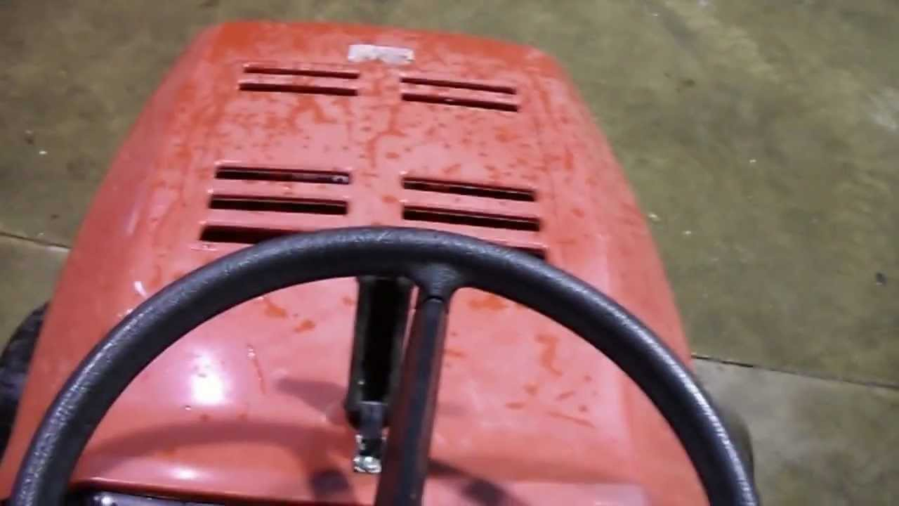 Lawn Chief lawn tractor  YouTube