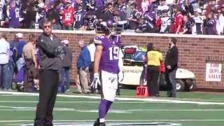 Adam Thielen makes home debut with Vikings