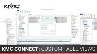 KMC Connect: Custom Table Views