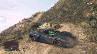 GTA 5 mount chiliad police chase