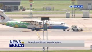 Suvarnabhumi Airport bans sky lanterns