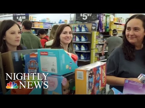 Online Spending Is Up As Millions Shop Black Friday Sales | NBC Nightly News