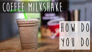 How to Make a Coffee Milkshake || Coffee Shake Recipe