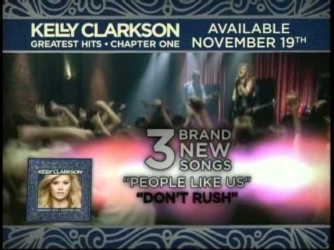 Kelly Clarkson - Greatest Hits commercial (Canada) - 2012