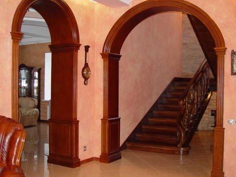 АРКА в Интерьере Прихожей - фото 2017 / Arch in the Interior of the Hallway photo